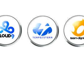 #22 untuk Convert 20 Team Badges Into Badge Icons For Esports teams oleh briangeneral
