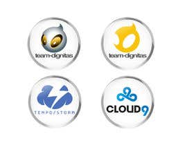 georgeecstazy tarafından Convert 20 Team Badges Into Badge Icons For Esports teams için no 14