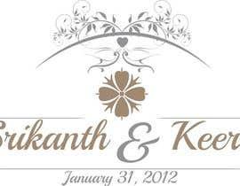 Nro 34 kilpailuun SK wedding monogram käyttäjältä kushallalan31