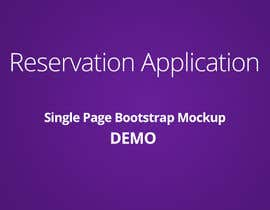 #6 cho Design a bootstrap html Mockup for Travel Application (including Flights and ancillaries) bởi ganidugfx