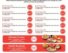 #20 cho Design a Restaurant Menu For Breakfast bởi turtledes