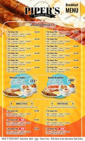 #24 cho Design a Restaurant Menu For Breakfast bởi genesispeche