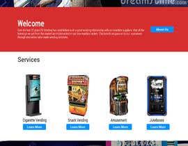 Nro 14 kilpailuun Design a responsive wordpress Mockup for FB Vending käyttäjältä lola2021