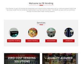 Nro 8 kilpailuun Design a responsive wordpress Mockup for FB Vending käyttäjältä sauravT