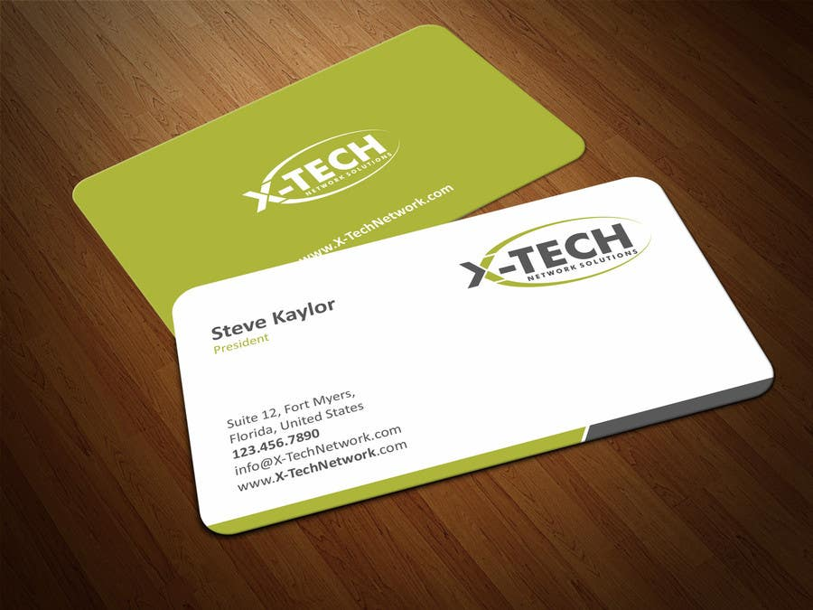 #57 for Develop a Corporate Identity for X-TechNetwork.com (Logo, Business Card & Letterhead) by ezesol