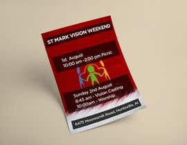#16 for Design a Flyer for Vision Weekend by ghani1