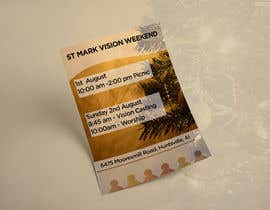 #17 cho Design a Flyer for Vision Weekend bởi ghani1