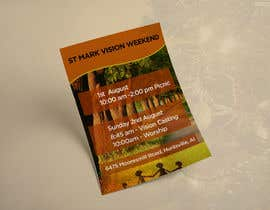 #18 cho Design a Flyer for Vision Weekend bởi ghani1