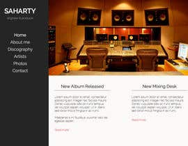 davidfloegel tarafından Build a Website for Sound Engineer/Mixer/Producer için no 3