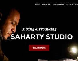 Nro 6 kilpailuun Build a Website for Sound Engineer/Mixer/Producer käyttäjältä deveshsuntha