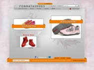 Graphic Design Contest Entry #3 for Shoe Design for FEMNATASHOES