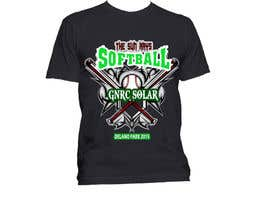 #6 for Design a T-Shirt for a softball team by ingenmig