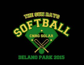#11 untuk Design a T-Shirt for a softball team oleh annalierobinson