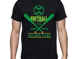 #13 for Design a T-Shirt for a softball team by pjrrakesh