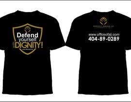 #29 untuk Design a Trendy T-Shirt for a Law Firm oleh arteq04