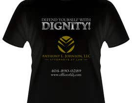 #7 untuk Design a Trendy T-Shirt for a Law Firm oleh arvydasbutautas