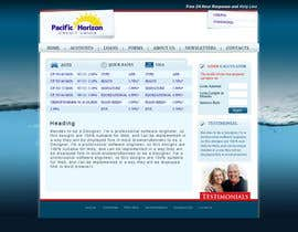nº 50 pour Website Design for Pacific Horizon Credit Union par iamheretodesign
