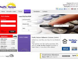 #51 untuk Website Design for Pacific Horizon Credit Union oleh darila