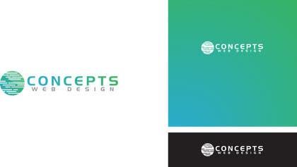 MFaizDesigner tarafından Design a Logo for Concepts Web Design için no 49