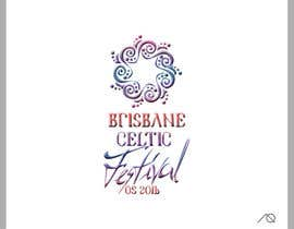 #86 for Brisbane Celtic Festival logo design af adrianaquiros