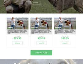 #6 untuk Urgent design for Dog trainer website oleh pmtandhqn