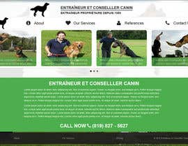 #4 para Urgent design for Dog trainer website por Ashucg
