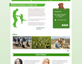#2 untuk Urgent design for Dog trainer website oleh kethketh