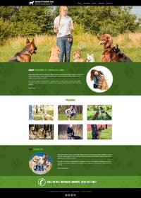 Nro 26 kilpailuun Urgent design for Dog trainer website käyttäjältä kreativeminds