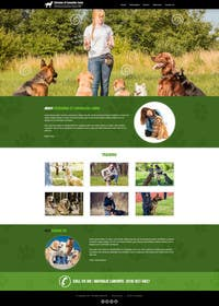 #26 untuk Urgent design for Dog trainer website oleh kreativeminds
