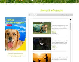 #13 untuk Urgent design for Dog trainer website oleh Modeling15