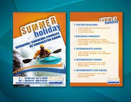 nº 17 pour Design a flyer for Summer Holiday Kayaking Courses par wilpx2