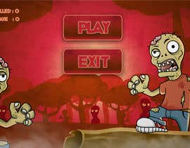 #9 for Design & Illustration - 2D Zombie Game Main Screen by Bebolum