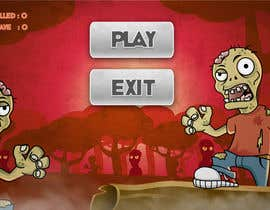 #12 for Design & Illustration - 2D Zombie Game Main Screen by Bebolum