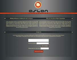 #26 para Graphic Design for Aslan Corporation por KCale