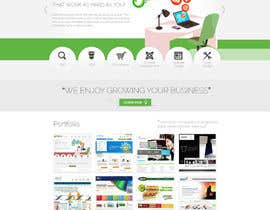 #12 for Design a Website Mockup for Trice Web Development af thecwstudio