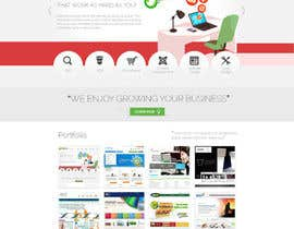 thecwstudio tarafından Design a Website Mockup for Trice Web Development için no 13