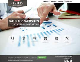 #19 untuk Design a Website Mockup for Trice Web Development oleh thecwstudio