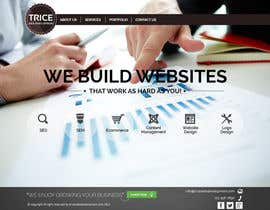 #25 para Design a Website Mockup for Trice Web Development por thecwstudio