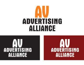 #22 untuk Design logo for AV Advertising Alliance oleh binoysnk