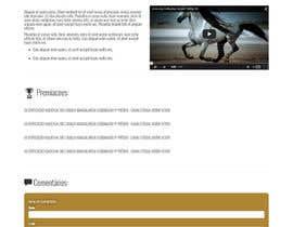 #19 para Create the website UI por DesignerMinion