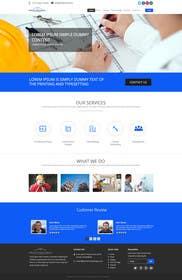 Nro 3 kilpailuun Design a Website Mockup for Architectural Tile Designs käyttäjältä ankisethiya