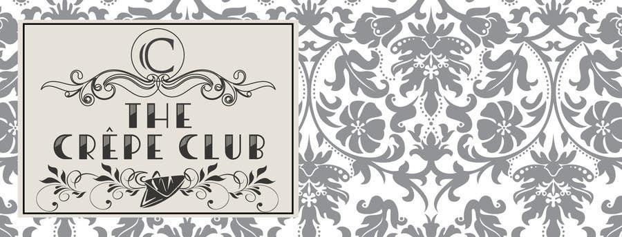 Inscrição nº 66 do Concurso para Design a Logo for The Crêpe Club + cart design
