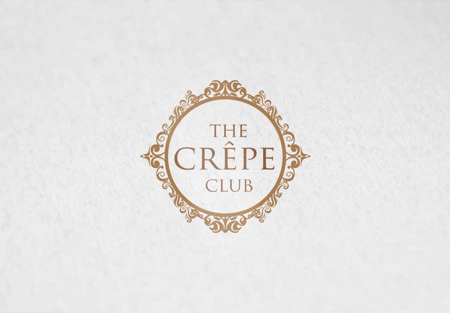 Inscrição nº 15 do Concurso para Design a Logo for The Crêpe Club + cart design
