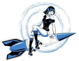 Stanislava21 tarafından Roller Derby Girl illustration için no 26