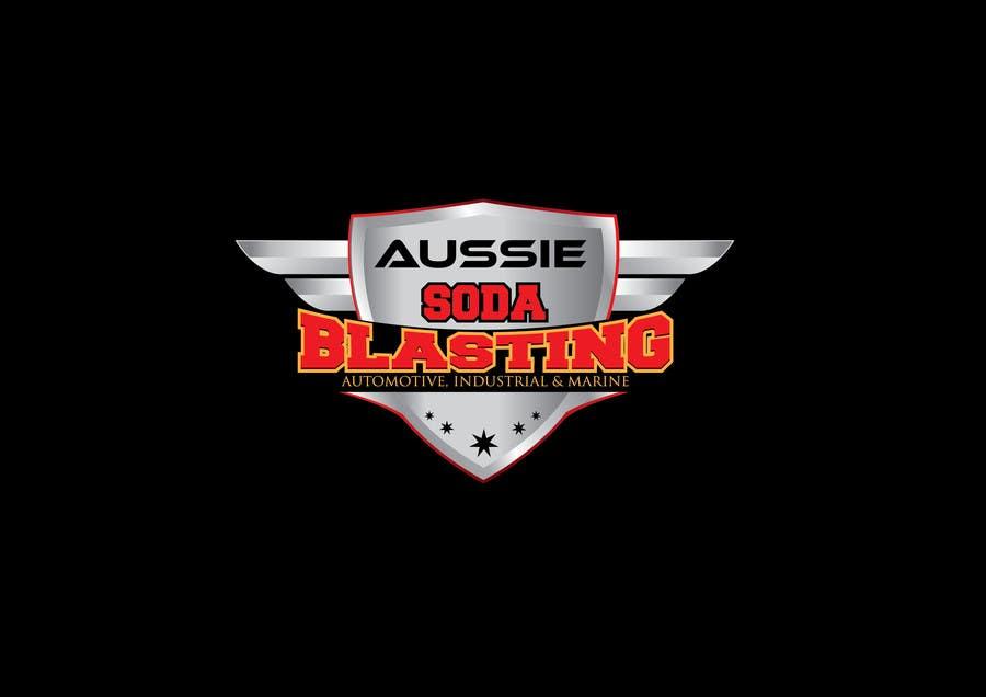 Kilpailutyö #51 kilpailussa Design a Logo for 'Aussie Soda Blasting'