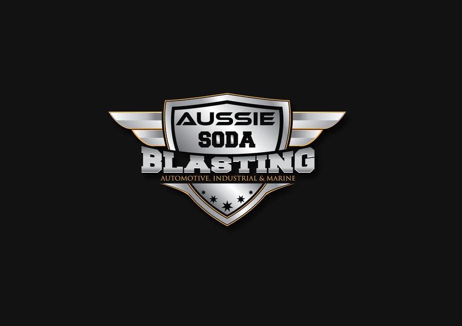 Kilpailutyö #56 kilpailussa Design a Logo for 'Aussie Soda Blasting'
