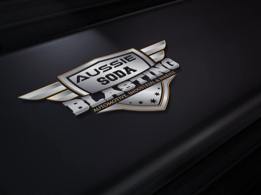 Kilpailutyö #61 kilpailussa Design a Logo for 'Aussie Soda Blasting'