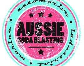 #69 for Design a Logo for 'Aussie Soda Blasting' af HalfTonePress
