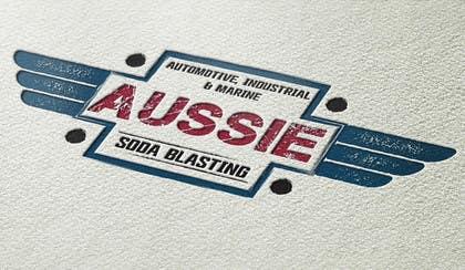#30 untuk Design a Logo for 'Aussie Soda Blasting' oleh fisekovic