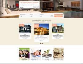 Nro 30 kilpailuun new website screendesign for real estate company käyttäjältä bellalbellal25